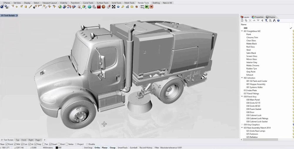 Rhinoceros 3D | KeeraTech